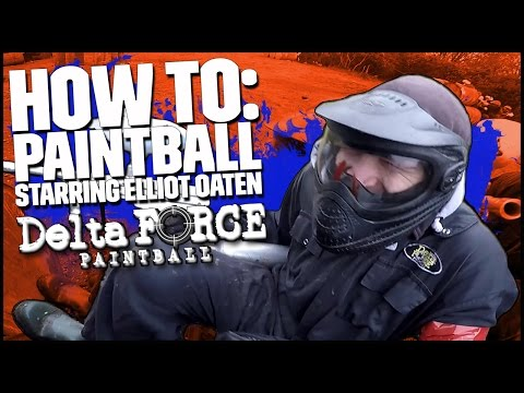Paintballer Vs Barrel, Who Wins?