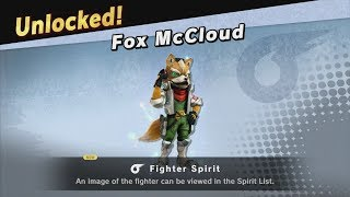 Super Smash Bros. Ultimate - Classic Mode - Fox