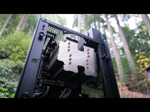 Building A Fully Silent Fanless PC - SilverStone LD03