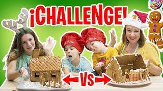 CASA de JENGIBRE ¡¡CHALLENGE!! vs CASA de JENGIBRE abandonada