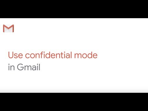 Use confidential mode