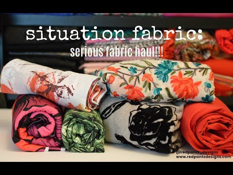 Fabric Haul - THE FABRIC STORE AND OTHERS