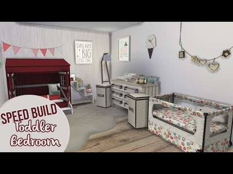Bedroom For Toddlers Ii The Sims 4 Speed Build Youtube