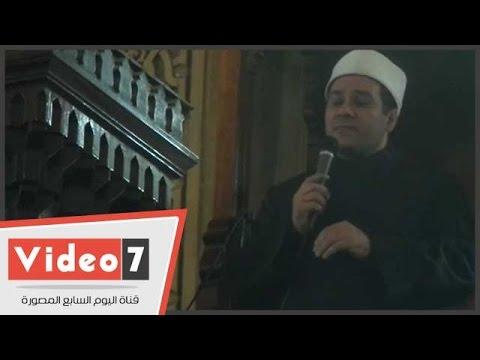 اليوم السابع : بالفيديو.. مظهر شاهين: فرق كبير بين شهداء الحق وقتلى الخيانة