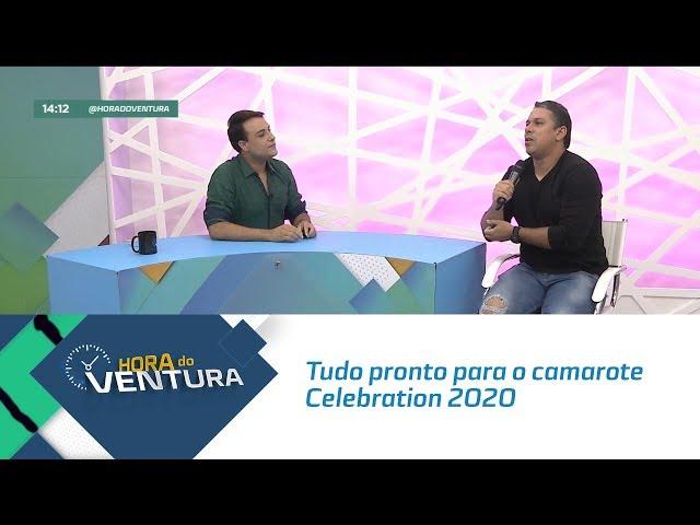 Tudo pronto para o camarote Celebration 2020 - Bloco 01