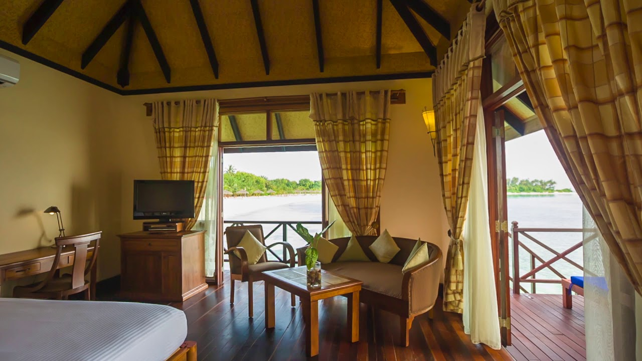 Deluxe Water Villa - Olhuveli Beach & Spa Maldives - YouTube