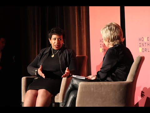 Attorney General Loretta Lynch talks encryption, crime, and justice