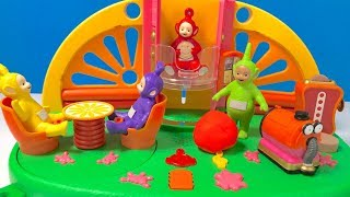 Learn Colors with Telletubbies Superdome Playset Toy   Fizzy Fun Toys