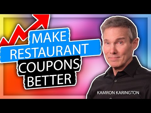 Create Better Restaurant Coupons – Restaurant Marketing Tips #restaurantsales