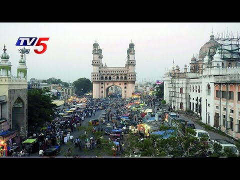 Charminar parking woes trouble tourists, traders : TV5 News