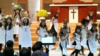 6 1. Manseren 2. Yesus Nit Papuan sacra Songs Cordana Children's Choir 세계 어린이합창제 2016