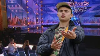 Quadeca try's out for America's Got Talent