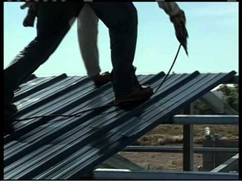 Metal Building Installation Step 19 Roof Panels YouTube