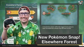 New Pokémon Snap! Elsewhere Forest on Nintendo Switch