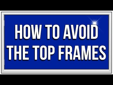 ADVANCED WINDOW CLEANING  - Avoiding the Top Frames with CONSTRUCTOR Brush