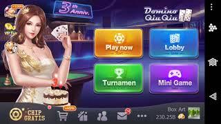 Domino qiu qiu  @Win 2,5 T dalam waktu seminggu 😱 😱 😱 (Tips & Trik)