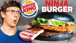Recreating Burger King's Black Ninja Burger (International Fast Food)