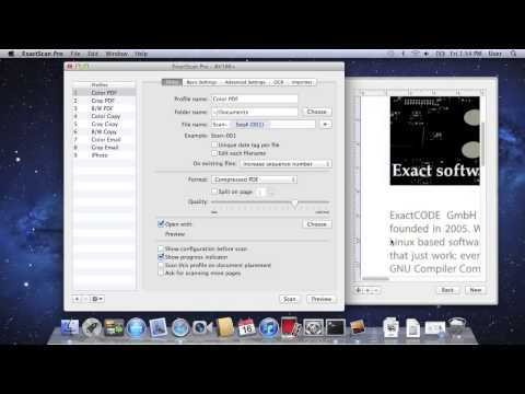 ExactScan Pro - Professionelles Scannen Am Mac