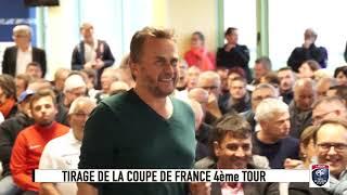 Coupe de France 2017-2018 : dans les coulisses du tirage du 4e tour à Angers