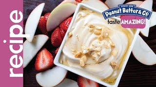 Peanut Butter Yogurt Fruit Dip Recipe