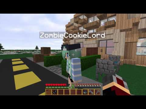 Minecraft Neighborhood roleplay! Ep 1: New house, old friend.
