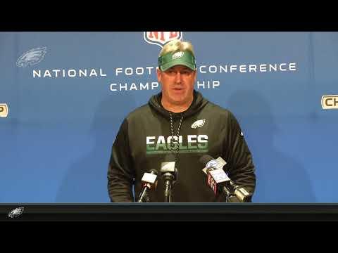 Eagles Press Pass: Head Coach Doug Pederson (1/17/18)