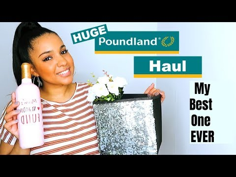 MY FAVE POUNDLAND HAUL EVER || HUGE POUNDLAND HAUL || POUNDLAND HAUL JUNE 2019