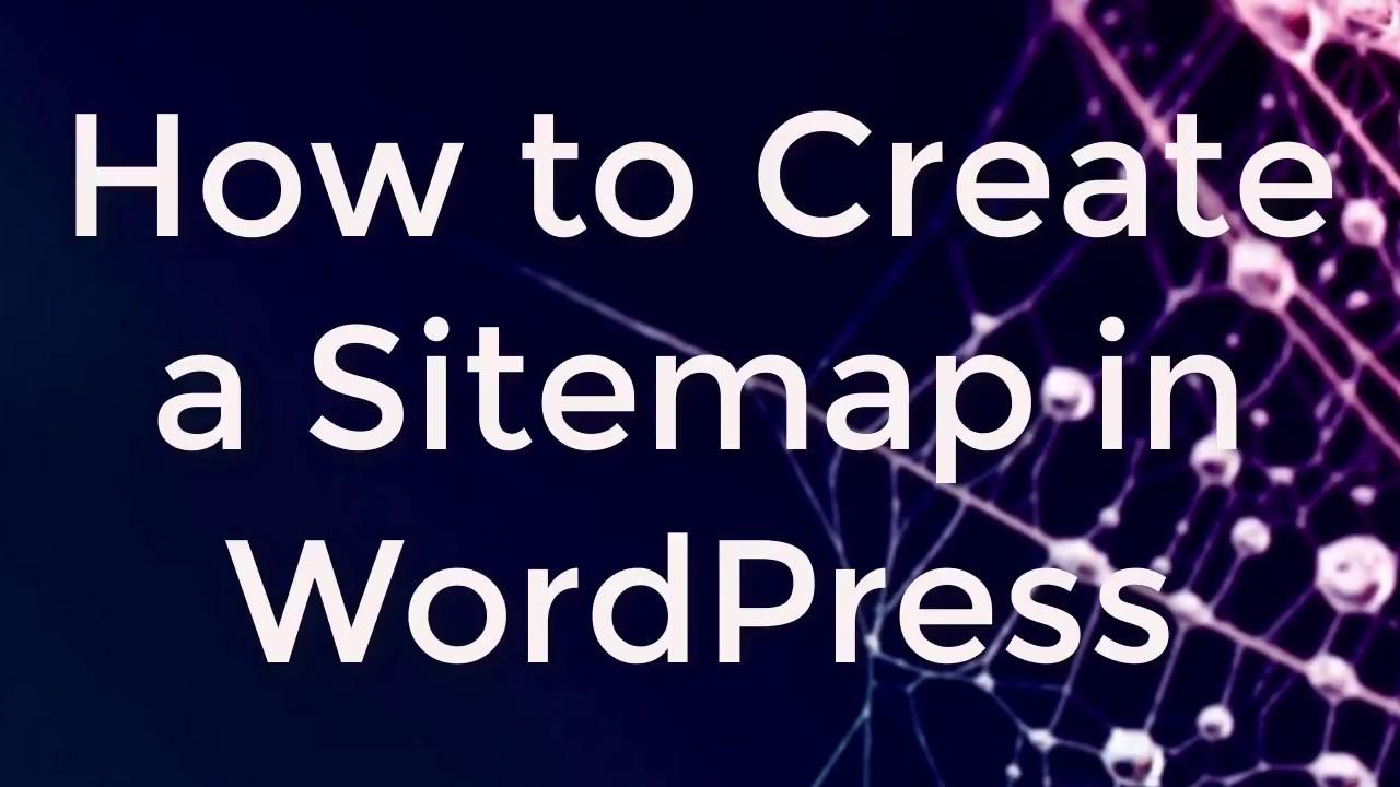 how to generate xml sitemap in wordpress youtube