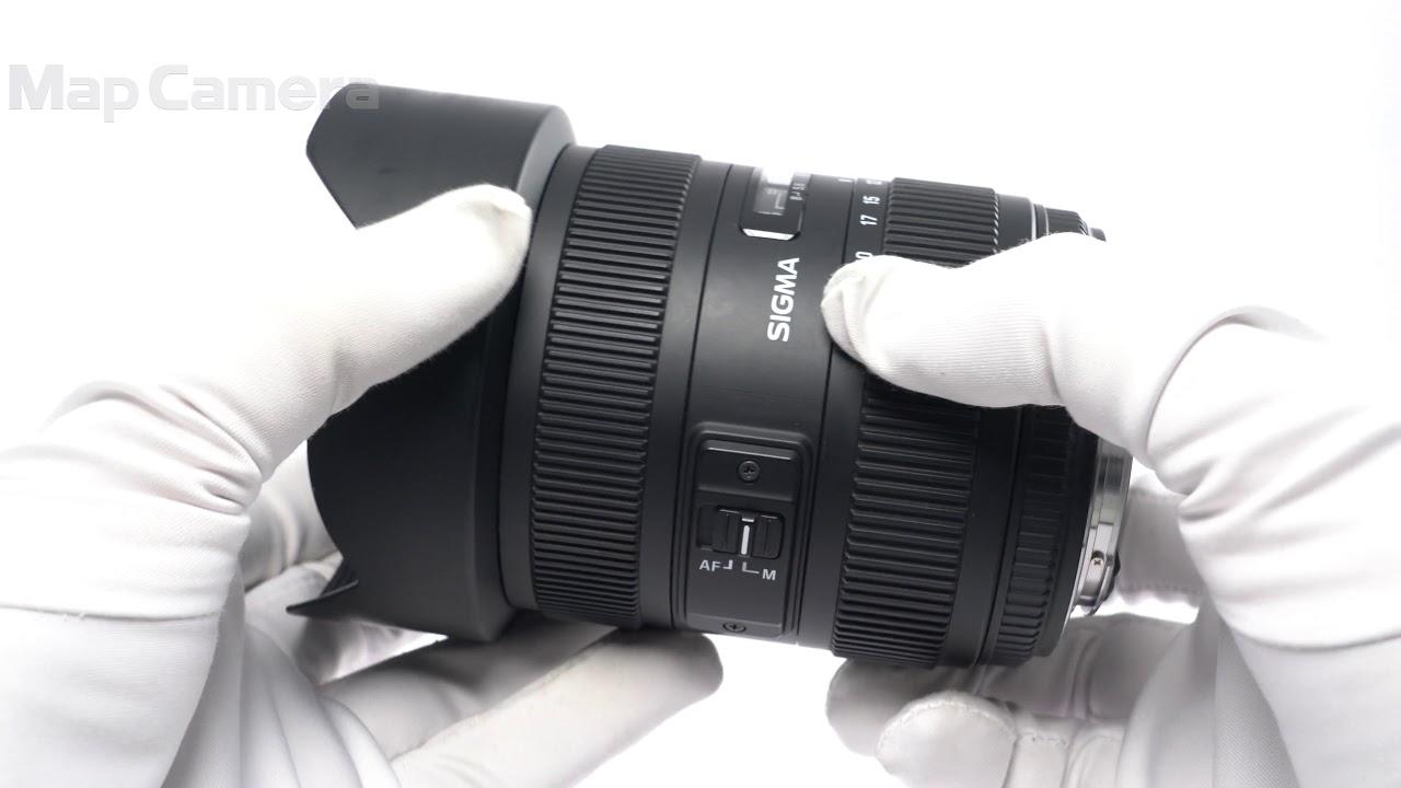 Sigma シグマ 12 24mm F4 5 5 6 Ii Dg Hsm キヤノン用 良品 Youtube