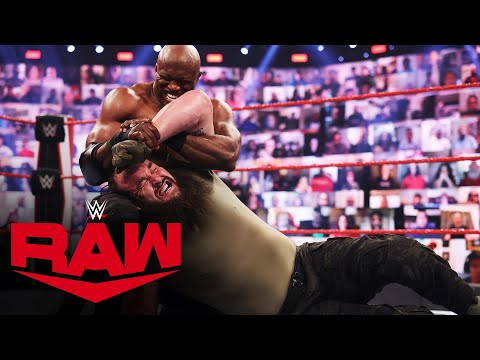 Braun Strowman vs. Bobby Lashley: Raw, May 3, 2021