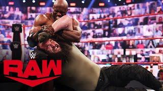 Braun Strowman vs Bobby Lashley Raw May 3 2021