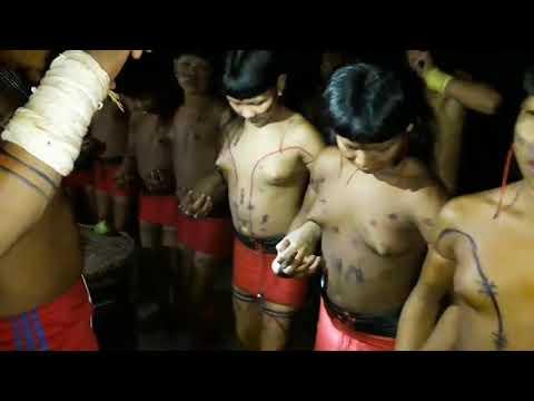 African tribal people dance