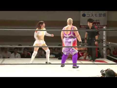 Aja Kong & Kyoko Kimura vs Mika Iwata & Chihiro Hashimoto