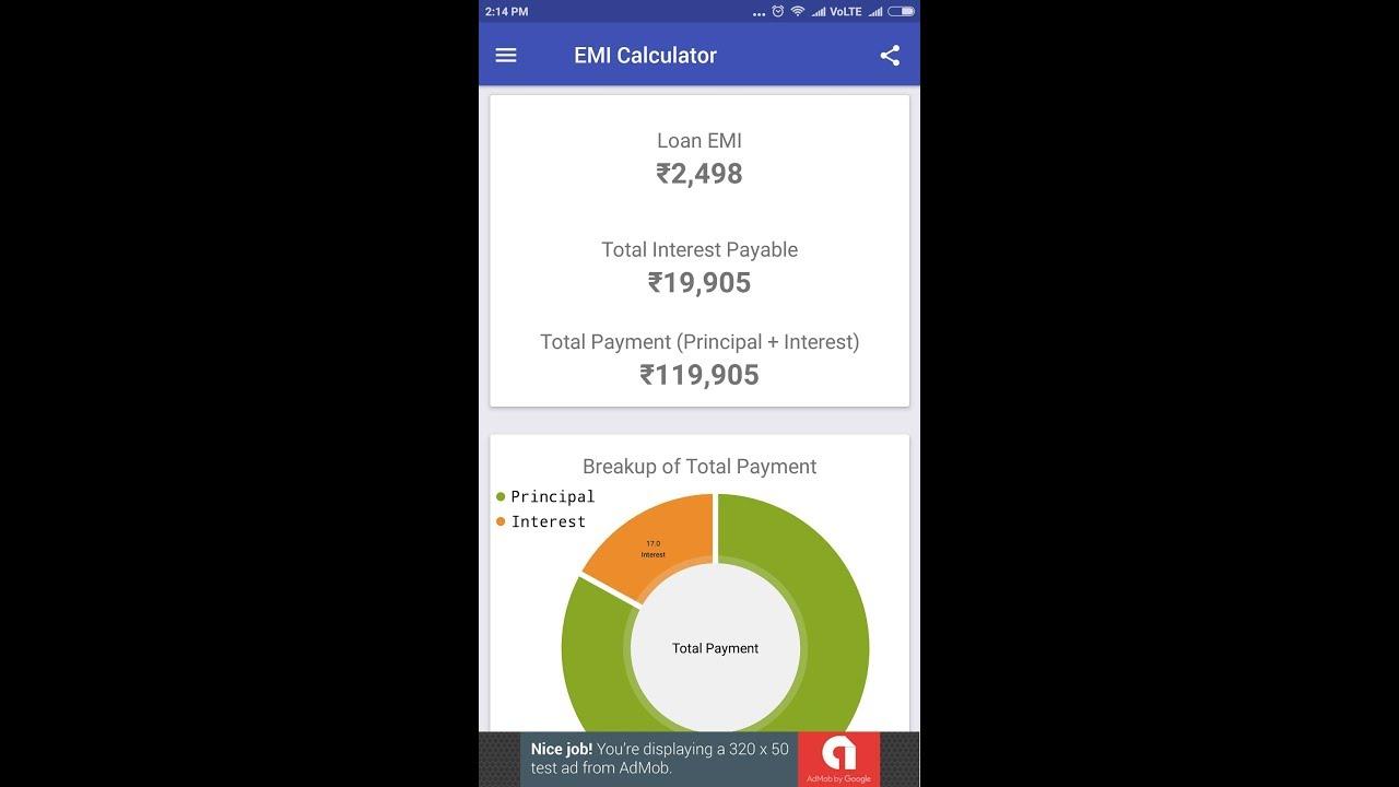Free home loan emi calculator calculate interest & emi on home loan.