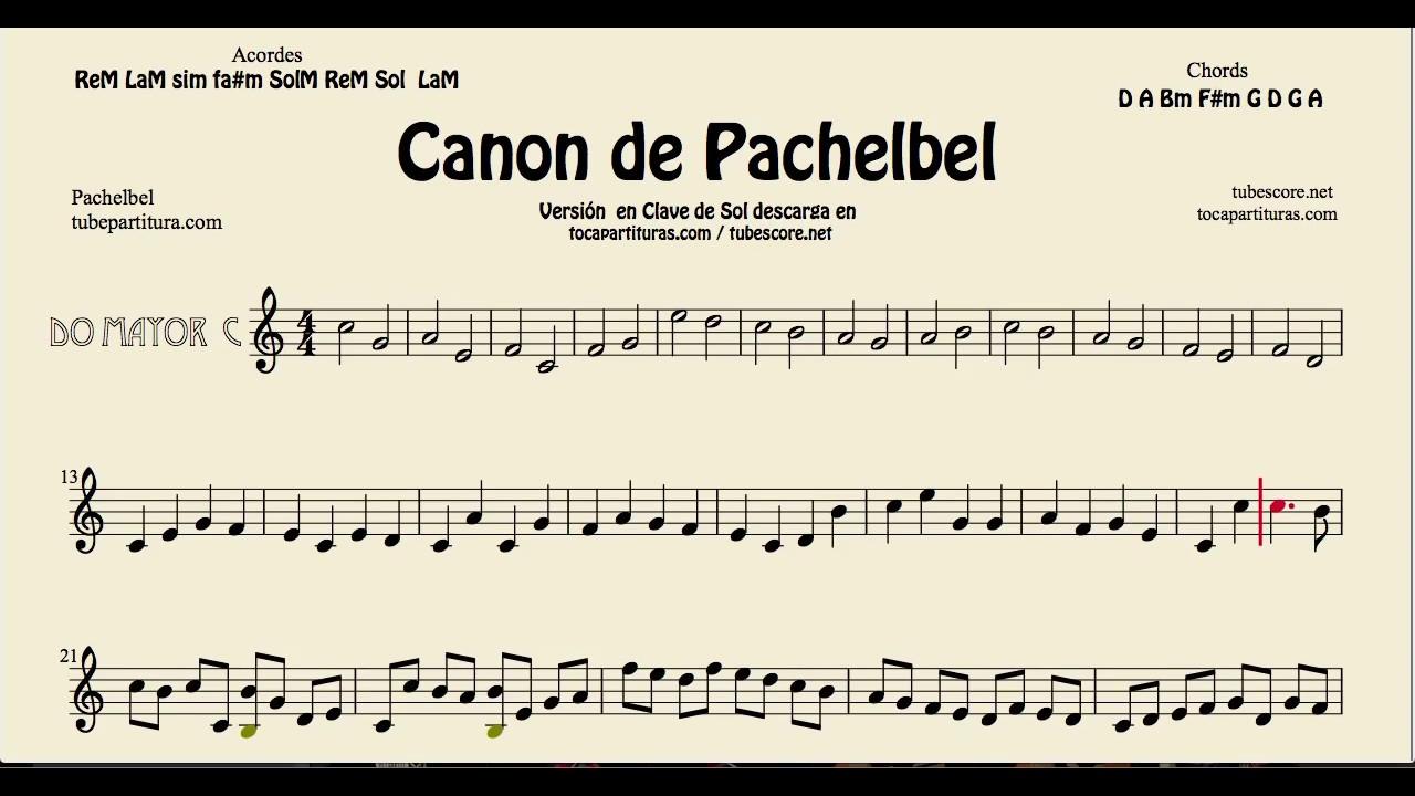 Pachelbels canon in c major sheet music for flute violin and oboe pachelbels canon in c major sheet music for flute violin and oboe g key tocapartituras com version hexwebz Gallery