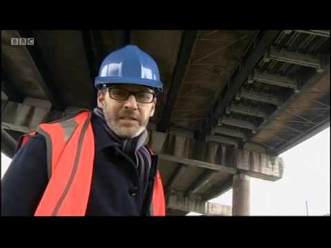 Birmingham Maintenance work on the M5 and M6 Junction 7 for Great Barr (Jan 2017)