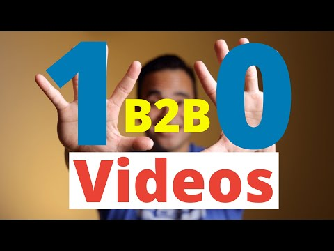 Top 10 B2B video marketing ideas to create for 2021 (with examples for inspiration!)