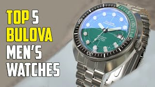 Top 7 Best Bulova Watches for Men   Bulova Watches