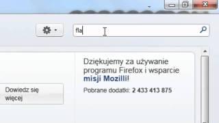 Jak zablokować reklamy i animacje flash w przeglądarce Mozilla Firefox 4?