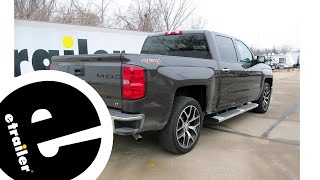 Best 2014 Chevrolet Silverado 1500 Trailer Wiring Options - etrailer.com