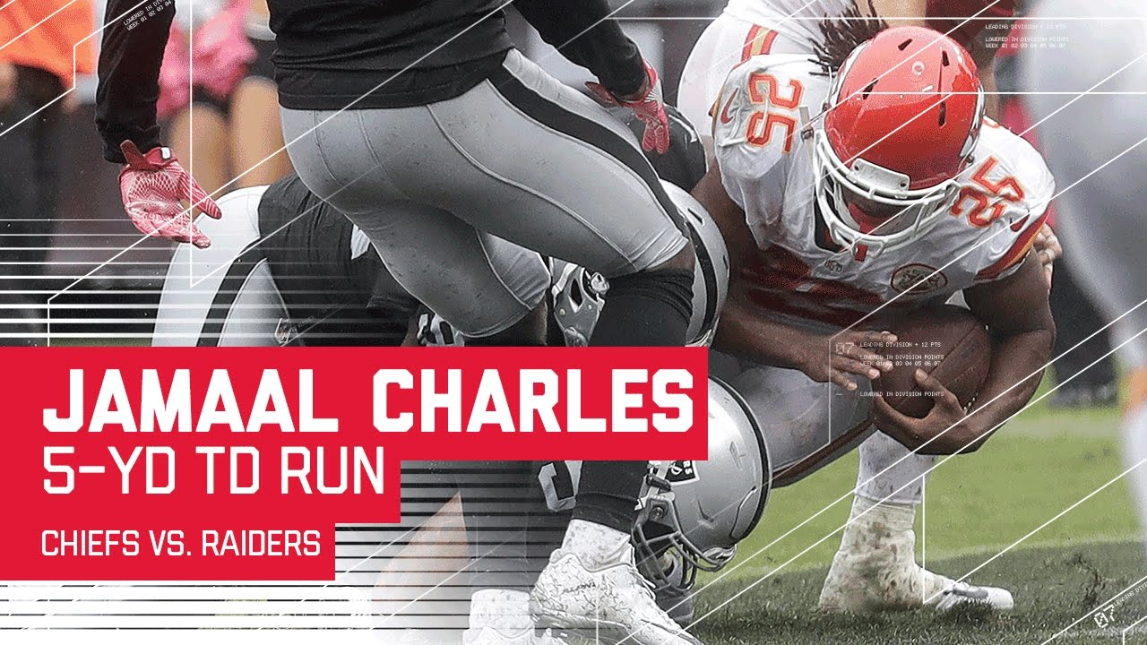 Alex Smith's Perfect Pass to Albert Wilson Sets Up Jamaal Charles' TD!  Chiefs vs. Raiders  NFL