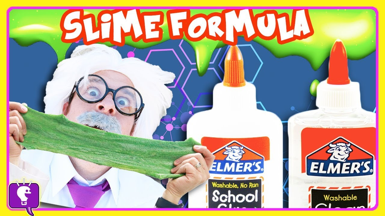 DIY Perfect SLIME Recipe for Kids, NonToxic with HobbyHarry on HobbyKidsTV