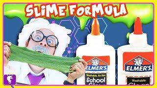 DIY Perfect SLIME Recipe for Kids, NonToxic with HobbyHarry on HobbyKidsTV