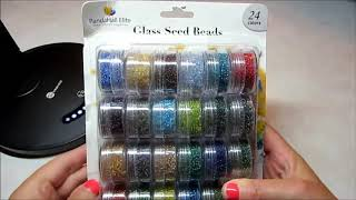 Pandahall Elite Seed Beads Review(OLDER VIDEO REVIEW FROM 2017)