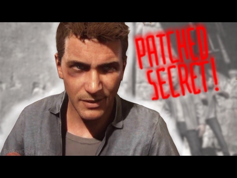 UNCHARTED 4 Easter Egg Patched! (ND Effect Artist I'm Sorry Mate.)
