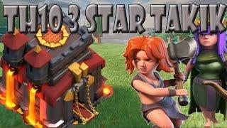 TH 10 vs. TH 10 | 3 Sterne TAktik | Let´s Play CoC/ Clash of Clans | Deutsch/ German