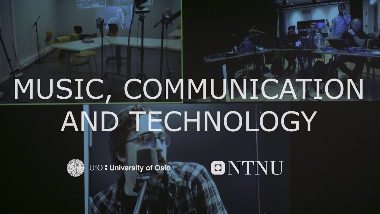 International master's programme in Music, communication and technology