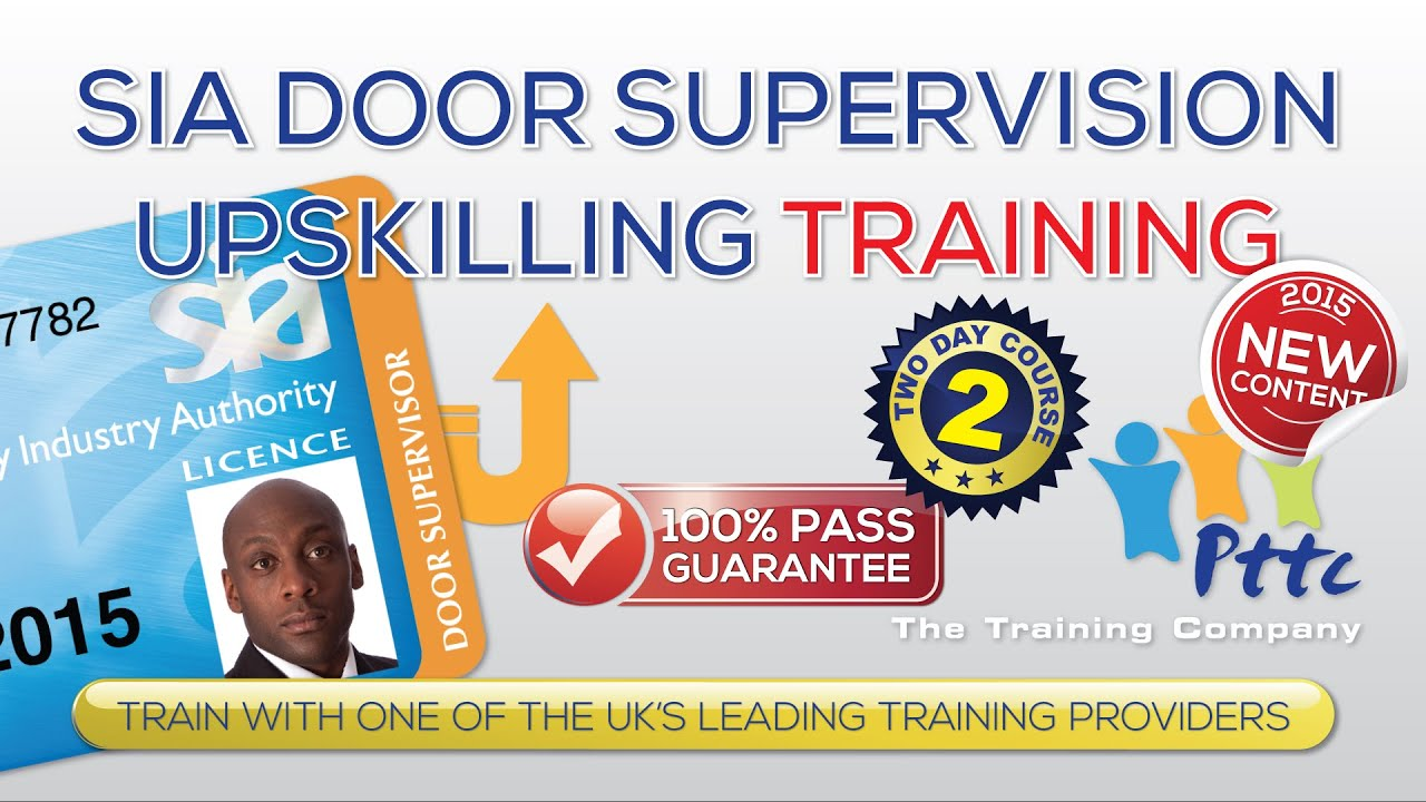 SIA Door Supervisor Upskilling Training Course | London | PTTC  sc 1 st  YouTube & SIA Door Supervisor Upskilling Training Course | London | PTTC ... pezcame.com