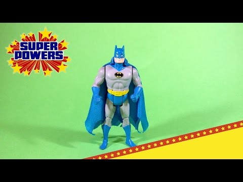 KENNER SUPER POWERS COLLECTION BATMAN ACTION FIGURE REVIEW (eng)