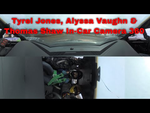 Tyrel Jones, Alyssa Vaughn & Thomas Shaw In-Car Camera 360 Springfield Raceway 02-22-2020